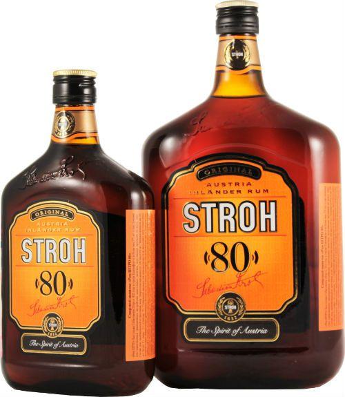 Ром «Stroh» фото