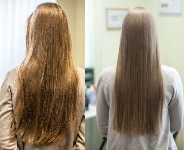 Гладкие волосы фото