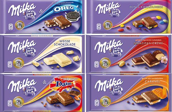 Шоколад «Milka» фото