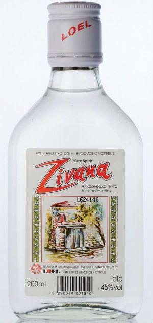 Виноградная водка Zivania фото