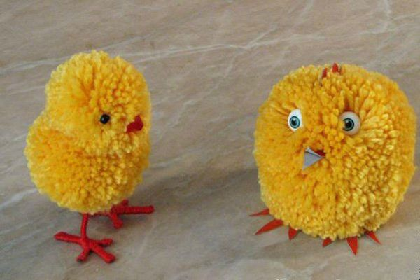 Готовые цыплятки фото