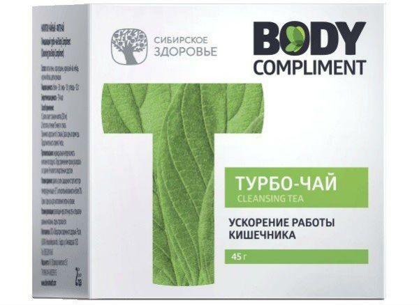Body Compliment. Очищающий турбо-чай фото