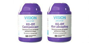 KG-Off (Vision) биодобавка фото