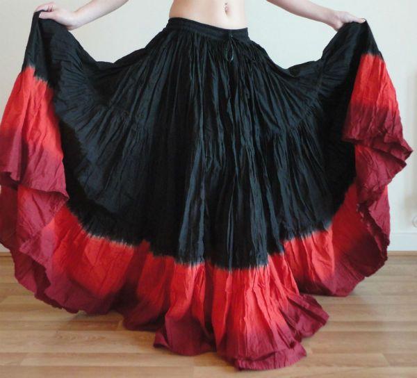 Цыганская юбка фото