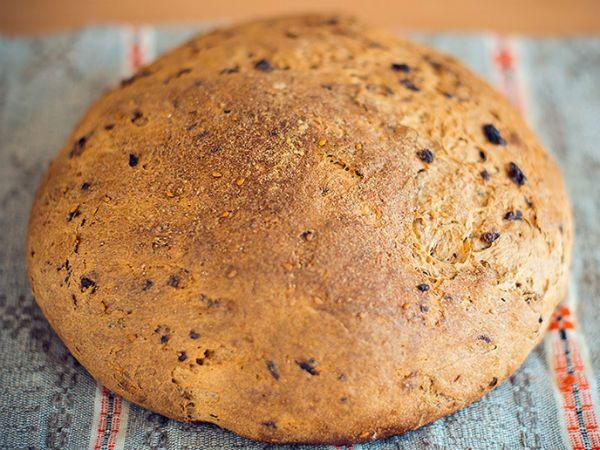 Бездрожжевой монастырский хлеб на закваске фото