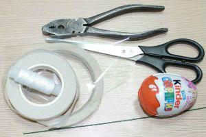 Букет из киндеров материалы и инструменты фото