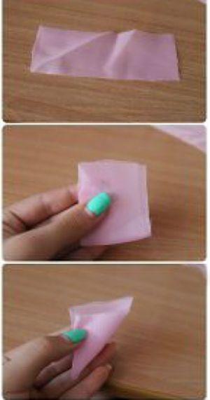 Цветочки из ткани для оформления фото