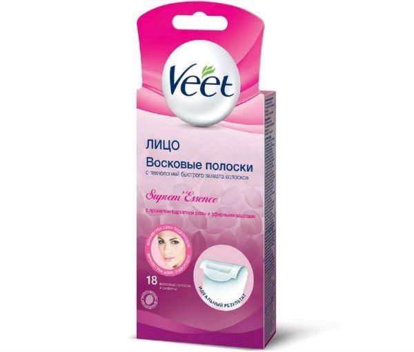 Воск для лица Veet фото