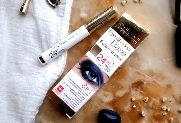 База под тени Eveline Cosmetics Eye Shadow Base Magic Stay фото