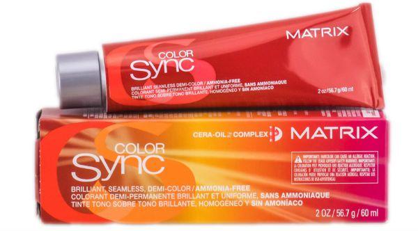 Безаммиачная краска Matrix Color Sync фото