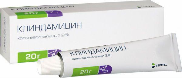 Вагинальный крем Клиндамицин фото