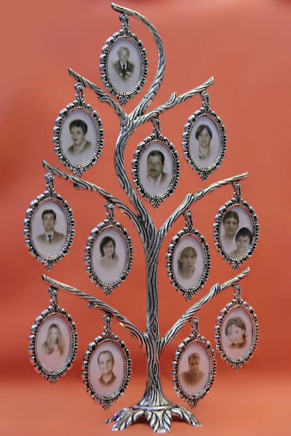 Генеалогическое дерево металлическое фото