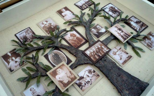 Объемное генеалогическое дерево семьи фото