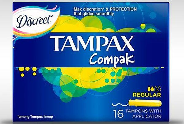 Tampax Compak regular фото