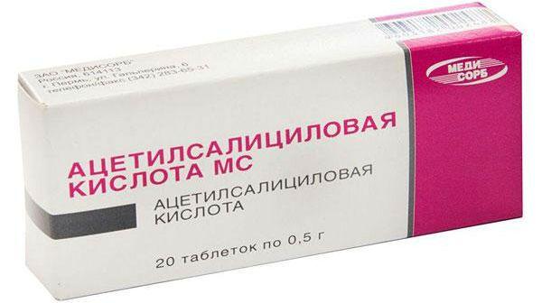 Ацетилсалициловая кислота фото