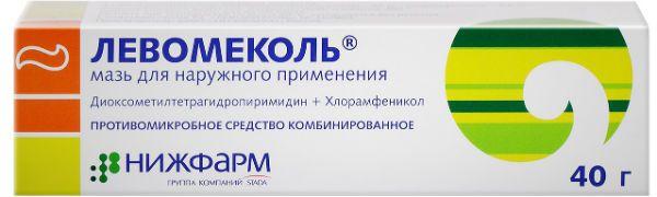 Левомеколь фото