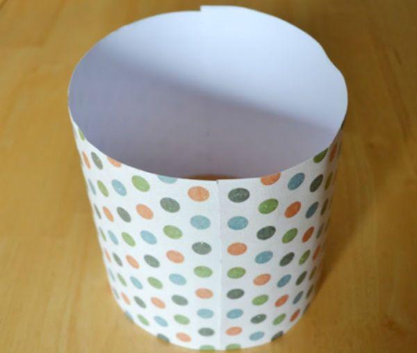 Цилиндр из бумаги шаг 4 фото