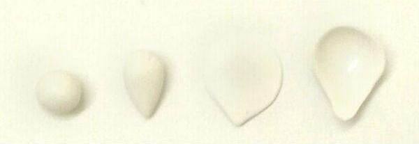 Декор свадебных бокалов полимерной глиной шаг 1 фото