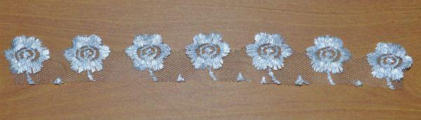 Декор свадебных бокалов тканью шаг 9 фото