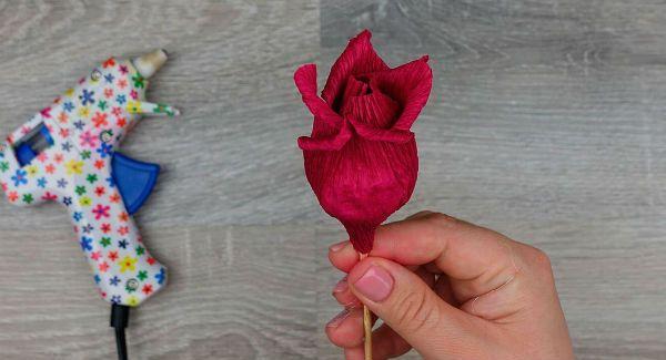Объемные розы с сюрпризом шаг 13 фото