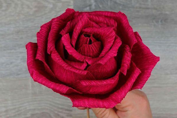 Объемные розы с сюрпризом шаг 29 фото