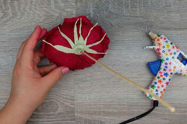 Объемные розы с сюрпризом шаг 35 фото