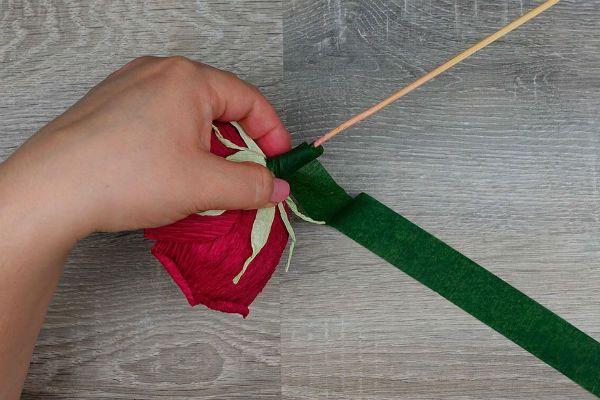 Объемные розы с сюрпризом шаг 37 фото