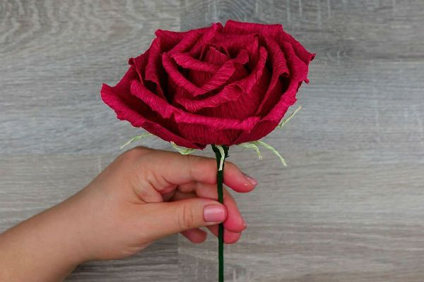 Объемные розы с сюрпризом шаг 38 фото