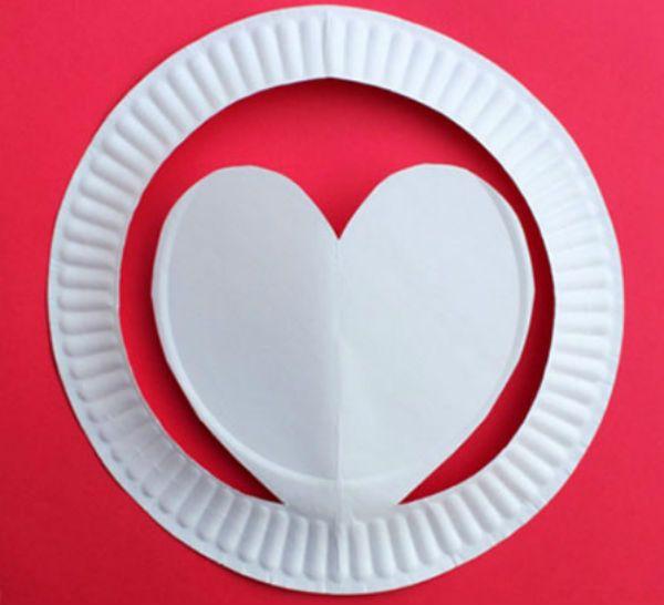 Шляпка из бумажной тарелки шаг 5 фото