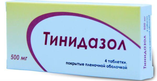 Тинидазол фото
