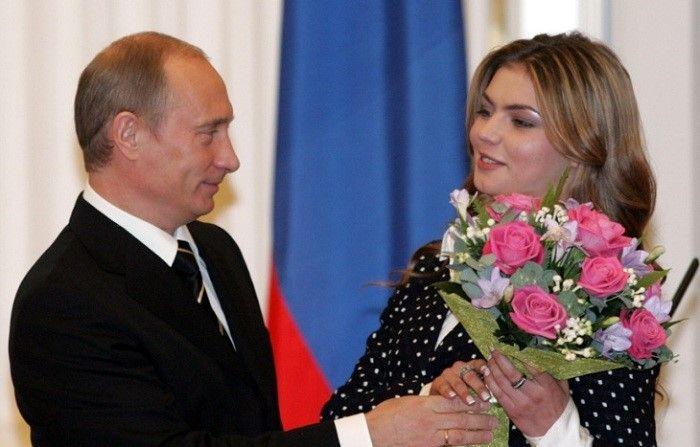 Алина Кабаева и Владимир Путин фото