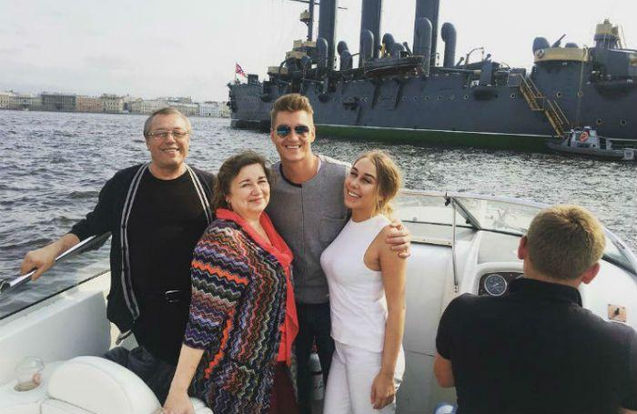 Алексей Воробьев семья фото