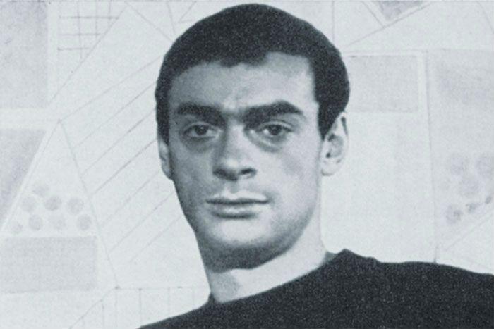 Лев Збарский в молодости