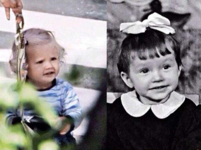 Алла Пугачева в детстве и Лиза Галкина фото