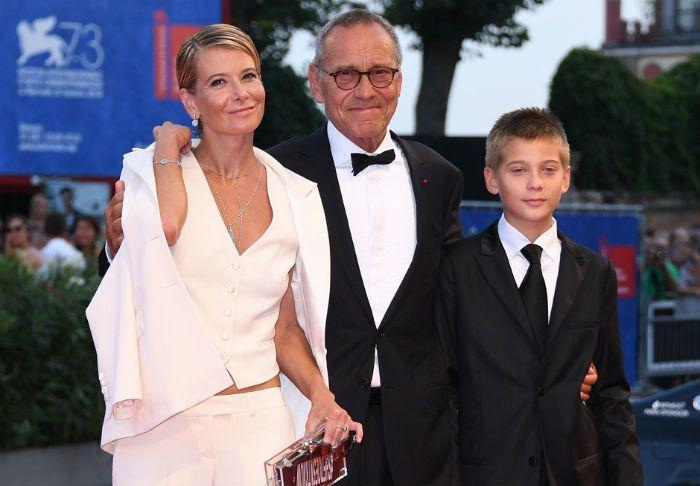 Юлия Высоцкая с мужем и сыном фото