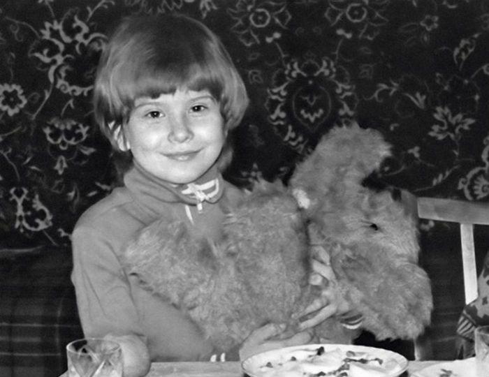 Юлия Высоцкая в детстве фото