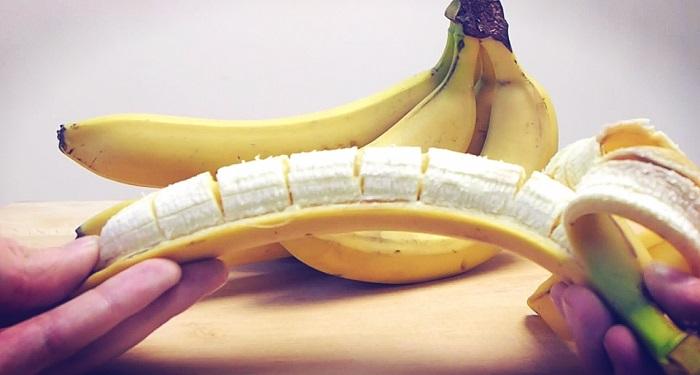 Фокус с бананом фото