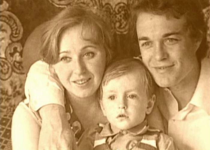 Родители Сергея Безрукова фото