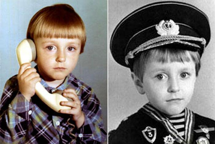 Серегей Безруков в детстве фото