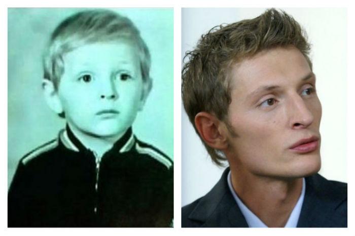 Павел Воля в детстве фото