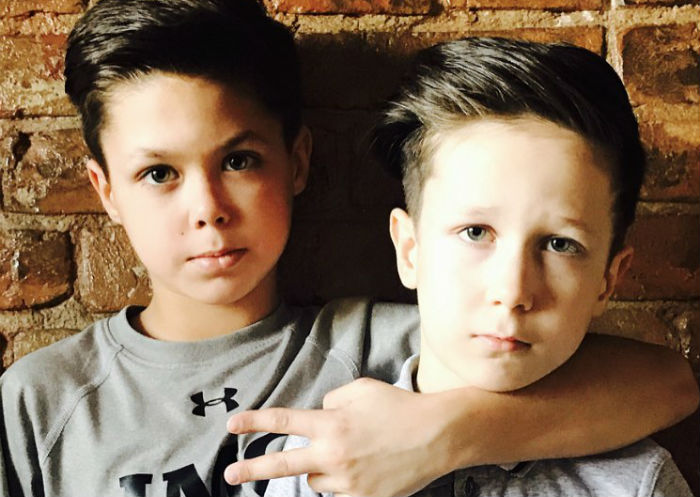 Сыновья Климовой фото