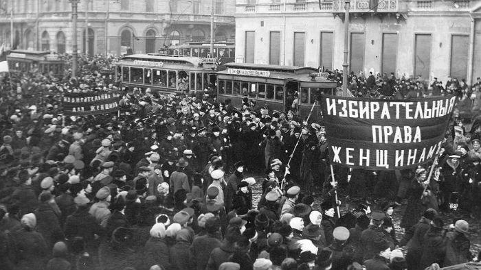 Митинг 1917 фото