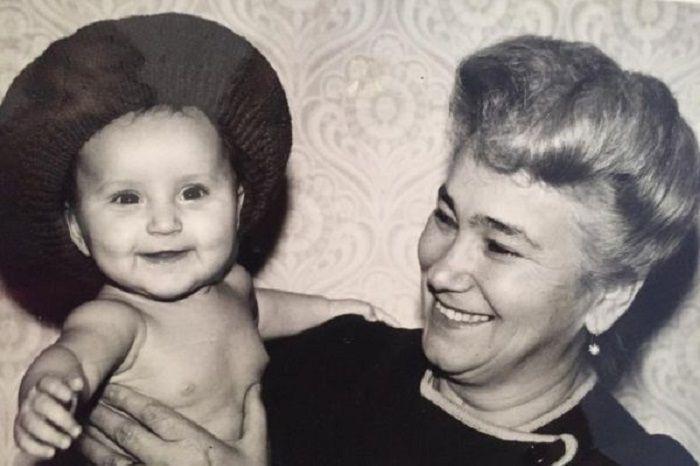 Анна Дзюба детство фото