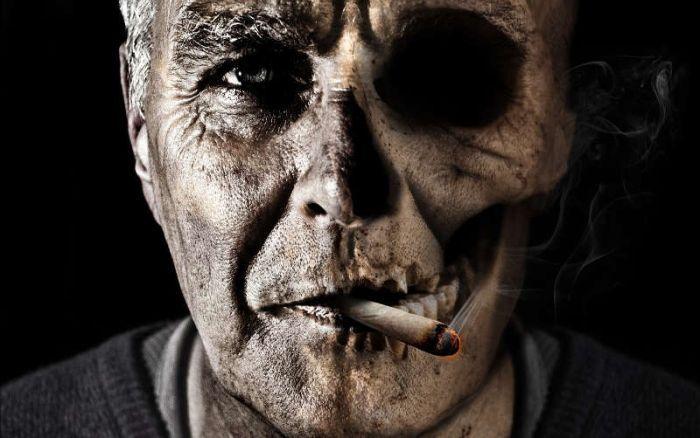 курильщик