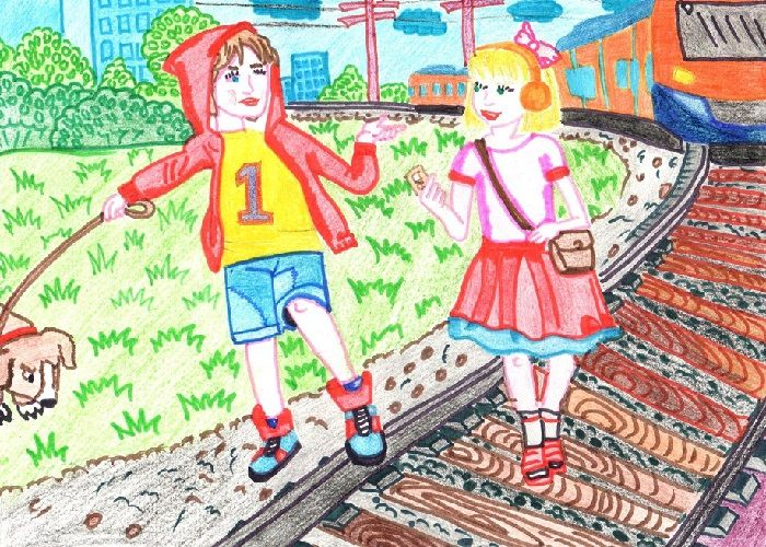 Картинка Безопасность на железной дороге