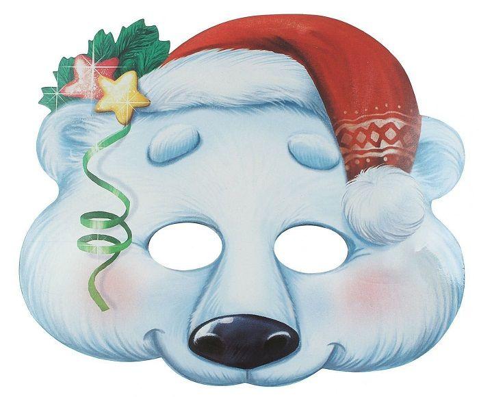 Маска белого медведя