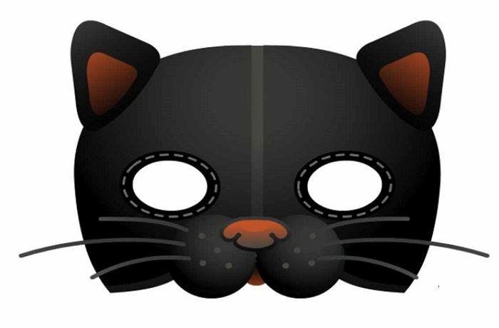 Маска кота на голову