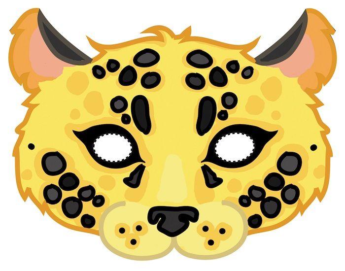 Маска леопарда