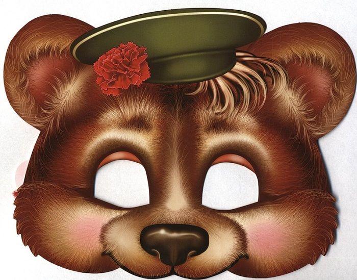 Маска медведя
