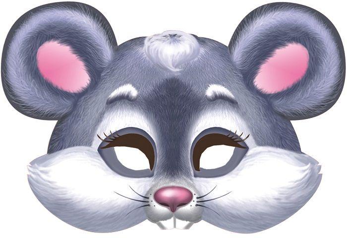 Маска мышки на голову